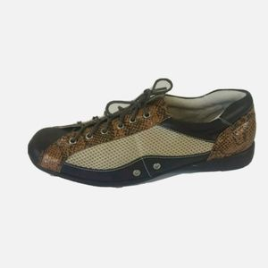 Newport News Brown Leather Oxford Shoes Size 10 B
